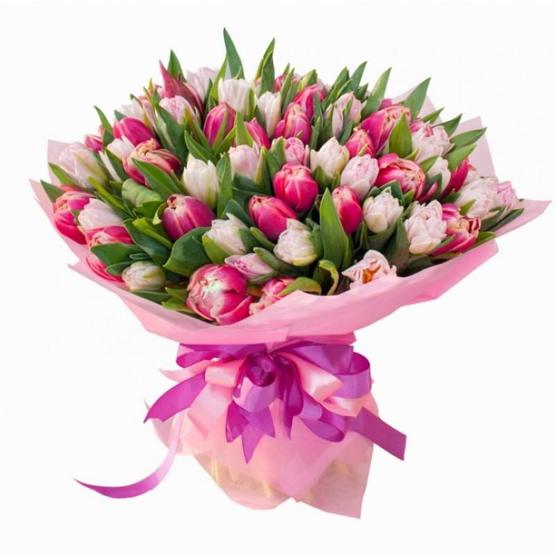 букеты тюльпаны цветы картинка